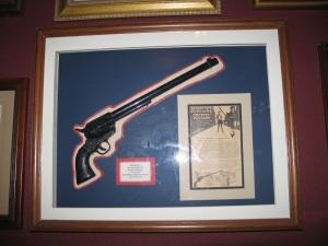 Wyatt Earp's gun - replica