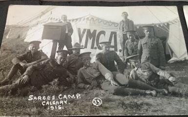 Sarcee Camp Calgary 1915